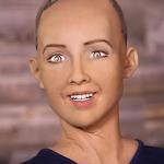 「人工知能は世界のために」 ロボットが未来を語ったけど、なんだろうこの怪しい外国人が「ワタシ、イイヒトよ」って言ってるような不気味さw