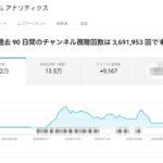 Youtube収益化後、1ヶ月間で収益が○○万円を突破した話
